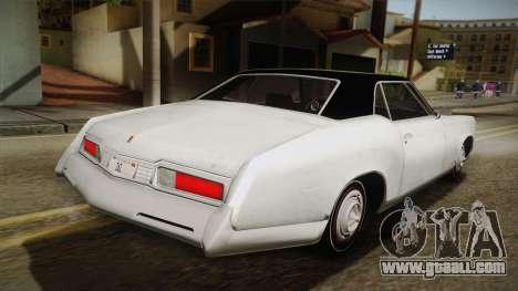 Mafia 3 - Samson Storm for GTA San Andreas left view