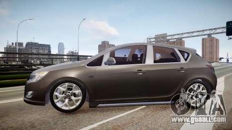 Opel Astra Senner for GTA 4 left view