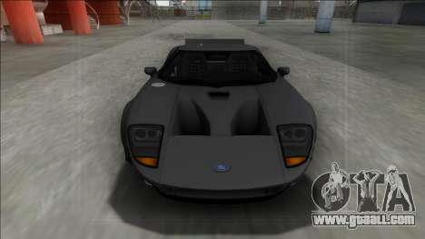 2005 Ford GT Rocket Bunny for GTA San Andreas right view
