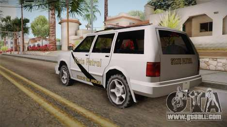 Dundreary Landstalker 1993 SA State Patrol for GTA San Andreas left view
