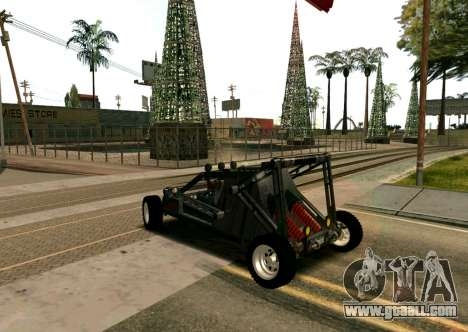 Off Road Car for GTA San Andreas left view