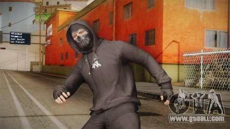 Alan Walker Skin for GTA San Andreas