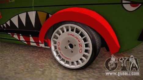 Volkswagen Golf Mk1 GTI 16v ITB v1.0 for GTA San Andreas back view