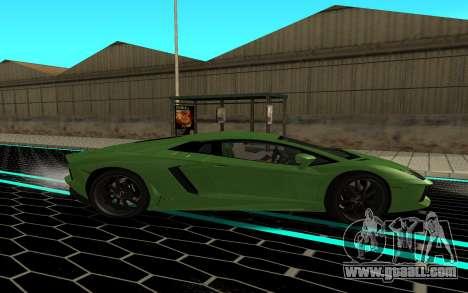 Lamborgini Aventador for GTA San Andreas left view