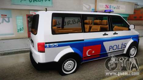 Volkswagen Transporter Turkish Police for GTA San Andreas