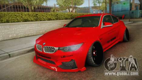 BMW M4 Liberty Walk for GTA San Andreas