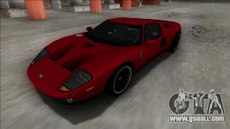 2005 Ford GT for GTA San Andreas right view