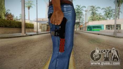 Orange Weapon 3 for GTA San Andreas third screenshot