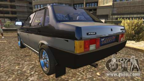 GTA 5 VAZ-21099 rear left side view