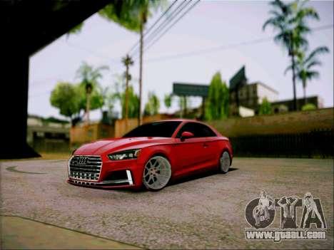 Audi S5 2017 for GTA San Andreas
