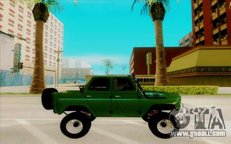 UAZ-469 for GTA San Andreas left view