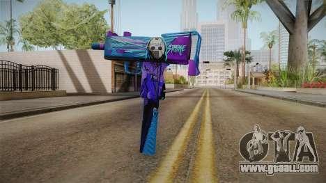 Vindi Halloween Weapon 6 for GTA San Andreas second screenshot