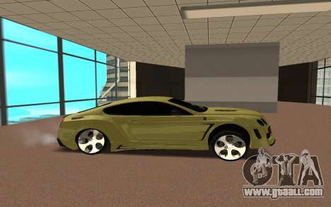 Bentley Continental for GTA San Andreas left view