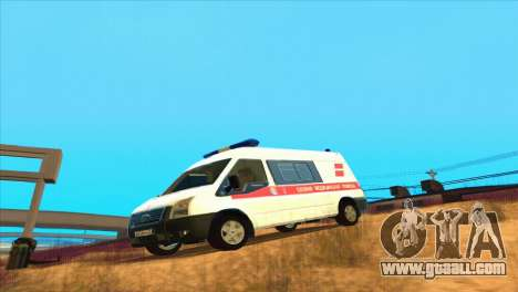 Ford Transit Ambulance for GTA San Andreas left view