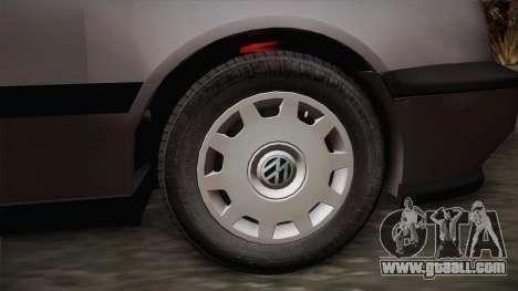 Volkswagen Golf Mk3 Stock for GTA San Andreas back left view