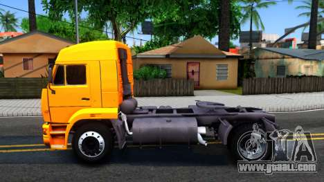 KamAZ 5460 for GTA San Andreas left view