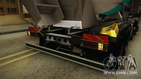 Iveco Trakker Hi-Land Cement Mixer 8x4 v3.0 for GTA San Andreas interior