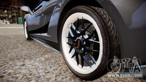 Lamborghini Gallardo Superleggera Custom 2007 for GTA 4 back view