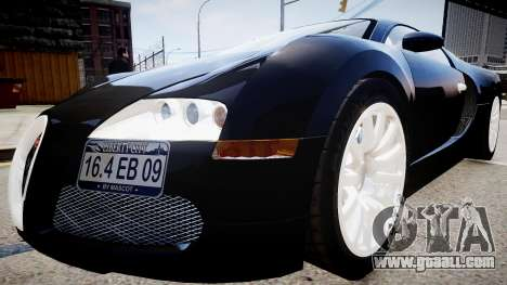 Bugatti Veyron 16.4 2009 v.2 for GTA 4 back left view