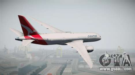 Boeing 787-8 Qantas for GTA San Andreas left view