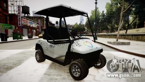 Golf Car - New Logo for GTA 4 right view
