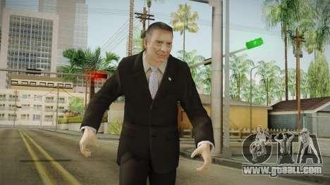 Mauricio Macri for GTA San Andreas