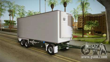 Iveco Eurotech 400E34 Tandem v2.0 Trailer for GTA San Andreas