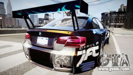BMW M3 GT2 Ultimate Drift for GTA 4 left view