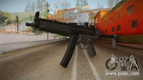 CoD 4: MW Remastered MP5 for GTA San Andreas
