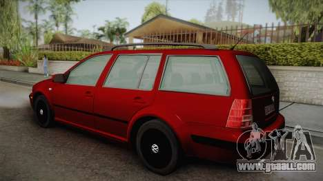 Volkswagen Golf 4 Variant 1.8 T for GTA San Andreas left view