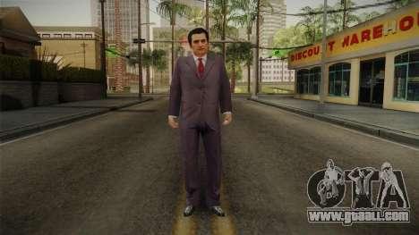 Mafia - Paulie Normal Suit for GTA San Andreas second screenshot
