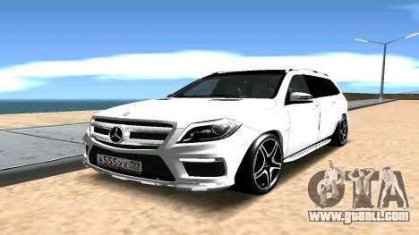Mercedes-Benz GL63 AMG for GTA San Andreas