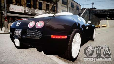 Bugatti Veyron 16.4 2009 v.2 for GTA 4 right view