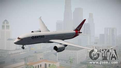 Boeing 787-8 Qantas for GTA San Andreas back left view