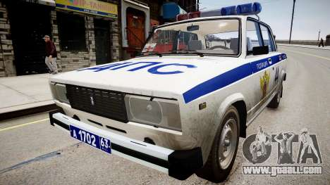VAZ 2105 Police for GTA 4
