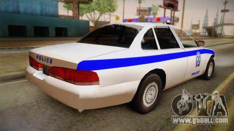 Ford Crown Victoria 1997 for GTA San Andreas left view