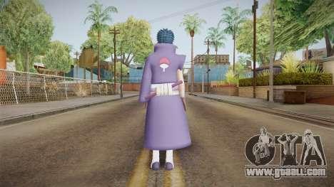 NUNS4 - Obito War Without Mask Damaged for GTA San Andreas third screenshot