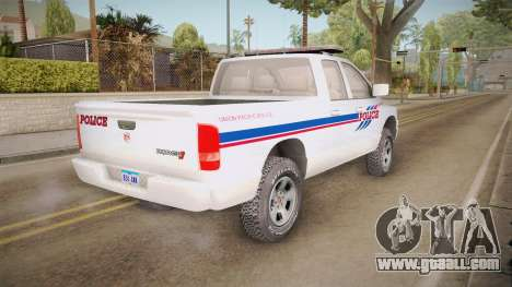 Dodge Ram 2008 Union Pacific Railroad PD for GTA San Andreas right view