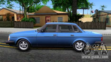 Volvo 244 Turbo 1983 for GTA San Andreas left view