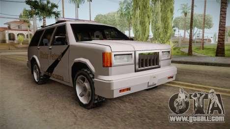 Dundreary Landstalker 1993 SA State Patrol for GTA San Andreas
