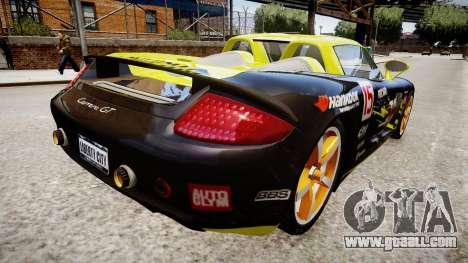 Porsche Carrera GT [EPM] for GTA 4 left view