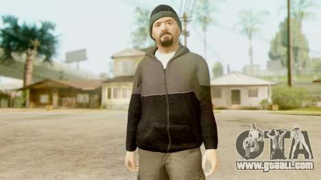 GTA 5 Michael Hoody for GTA San Andreas third screenshot