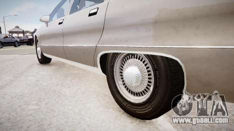 Chevrolet Caprice Civilian 1991 for GTA 4 back view