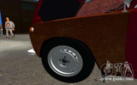 VAZ 2101 GVR for GTA San Andreas inner view