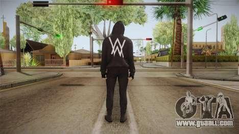 Alan Walker Skin for GTA San Andreas third screenshot