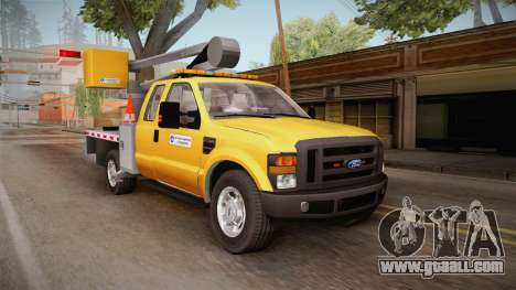 Ford F-350 2008 Cherry Picker for GTA San Andreas