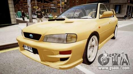 Subaru Impreza GC8 JDM Spec for GTA 4