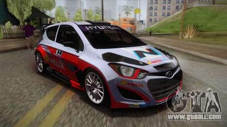 Hyundai i20 WRC 2013 for GTA San Andreas side view