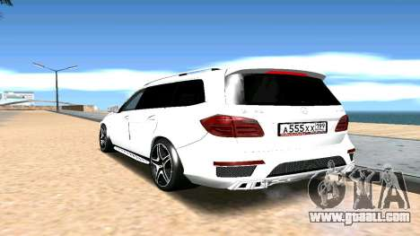 Mercedes-Benz GL63 AMG for GTA San Andreas left view