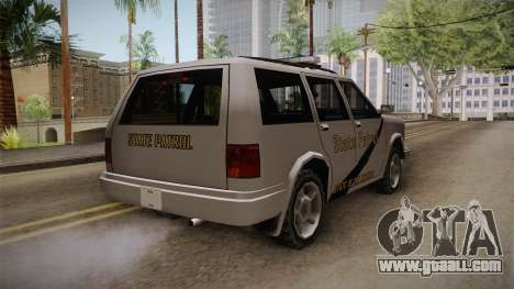Dundreary Landstalker 1993 SA State Patrol for GTA San Andreas right view